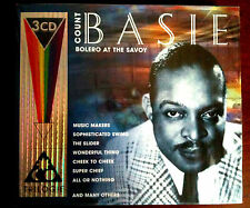 COFFRET COUNT BASIE - BOLERO  AT THE SAVOY - 3 CD NEUF EMBALLE