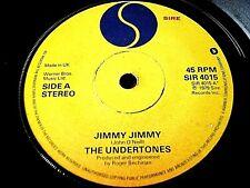 """THE UNDERTONES - JIMMY JIMMY  7"""" VINYL"""