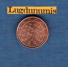 Portugal - 2002 - 1 centime d'euro - Pièce neuve de rouleau -