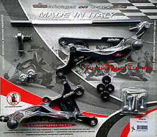 COMMANDES RECULEES VALTERMOTO TYPE 1  POUR YAMAHA YZF R6 600 2001 2002  (PEY06)