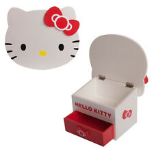 Sanrio Hello Kitty Face Wooden Accessories Box