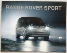 V06506 LAND ROVER RANGE ROVER SPORT AUTOBIOGRAPHY