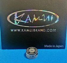 (1) Genuine M KAMUI BLACK Pool Cue Tip ( MEDIUM ) - w/ serial number