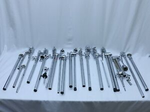 Cymbal Arm Mount Straight Boom Lot - Various parts used for Roland Tama DW Pearl