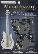 Electric Bass Guitar Metal Earth 3D Model Kit FASCINATIONS
