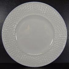 Bordallo Pinheiro White Basket Weave Celebrations Salad Plate Multiples