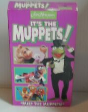 IT'S THE MUPPETS! Meet the Muppet Show VHS Video 1993 Jim Henson
