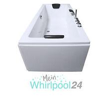 Badewanne Rechteck Acryl –Standbadewanne Helgoland aus hochwertigem Sanitäracryl