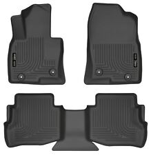 Husky Liners WeatherBeater Floor Mats- 3pc - 95611 - Mazda CX-9 16-18- Black