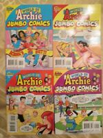 4 World of Archie Double Digest Lot - NM  - Bagged & Boarded  79, 80, 90, 92