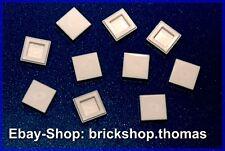 Lego 10 x Fliesen weiß (1 x 1) Fliese - 3070b - Tile White - NEU / NEW