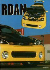 Q20 Clipping-Ritaglio 2002 Ford Focus 2.0 16V - Giallo Jordan
