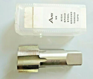 """APEX UK TAP 2""""  INCH  x 11 TPI BSP G BSPF No1 TAPER FIRST INDUSTRIAL QUALITY TAP"""