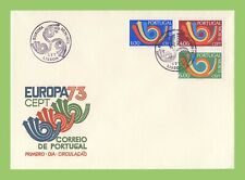 Portugal 1973 Europa set  First Day Cover
