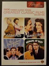TCM Romantic Comedy: Adam's Rib Woman of The Year Philadelphia Story (2-DVD Set)