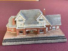 Danbury Mint Flagstaff Arizona Railroad Station Super Perfect