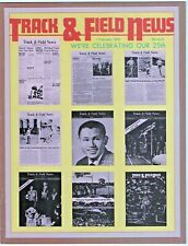 1973 Track and Field News Special 25th Anniversary Issue Prefontaine Wottle