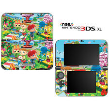Animal Crossing New Leaf Spring for New Nintendo 3DS XL Skin Decal Cover