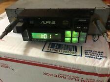 Rare Vintage Old School Alpine Car Stereo Model 7156
