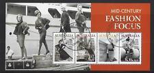 AUSTRALIA 2020 MID-CENTURY FASHION FOCUS MINIATURE SHEET FINE USED