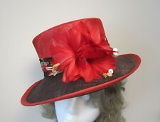 Jacques Vert Sienna Range Sinamay Hat - Worn once and Immaculate