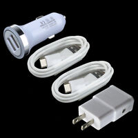 Car&Wall Charger+2x Type C Cable For LG G7 V35 ThinQ V20 V30 G5 G6 Pixel 2 3 XL