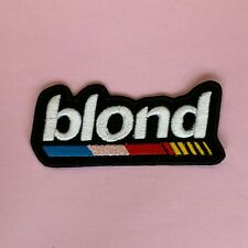 More details for iron on patch - nascar blond embroidered hip hop rap
