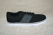 MENS PUMA BLACK SNEAKERS WITH ECO ORTHOLITE INSOLE US SIZE 10 (319)