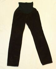 Motherhood Maternity Deep Purple Slim Skinny Full Panel Corduroy Pants Size M