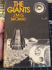 The Giants By J. M . G Leclezio First Us Edition 1975 Rare Collectible