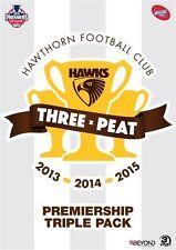 AFL - 2013-2015 Premiers- Hawthorn (DVD, 2015, 3-Disc Set)
