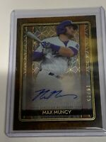 MAX MUNCY 2020 TOPPS TRIBUTE ICONIC PERSPECTIVES ACETATE Auto 19/25 🔥🔥🔥🔥🔥
