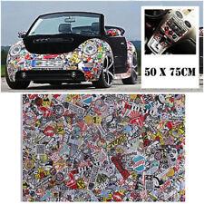 "DIY 20"" x 30""  Car Body Cartoon Graffiti Bomb Vinyl Sticker Wrap Sheet Roll Film"