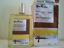 Vintage YVES ROCHER AJONE After Shave Lotion HUGE SIZE 235ml Men'Fragrance RARE
