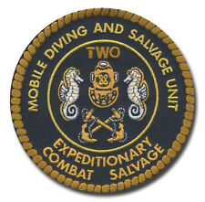 US Navy Mobile Diving and Salvage Unit (MDSU) Two patch L231