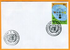 KYRGYZSTAN: 2001 FDC First day Cover Year of Dialogue among Civilization