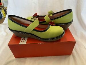 Heavenly Feet Carrie Lime Shoes UK Size 7