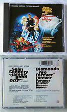 James BOND DIAMONDS ARE FOREVER/ORIGINAL SOUNDTRACK... CD EMI