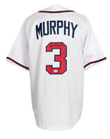 Dale Murphy Signed Custom White Pro Style Baseball Jersey PSA/DNA