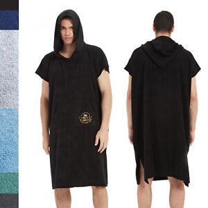 Surf Robe Poncho Wetsuit Changing Robe Beach Towel for Adult Men Women Bathrobe