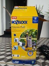 More details for hozelock flomax 7500 flood pump