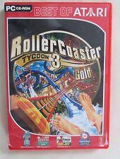 Roller Coaster Tycoon 3 - Gold [Best of Atari]   Game   gebraucht