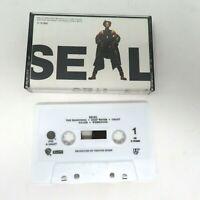 Seal 1st Album Cassette Tape - 1991 VTG Self Titled BMG