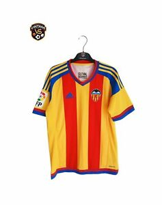 PERFECT Valencia CF Football Away Shirt 2015-2016 (S) Adidas Camiseta Jersey