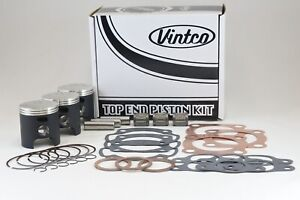 Kawasaki-H1-500 1974 1975 KH500 76 Top End Piston Kit 60.0mm Standard 13001-031