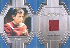2017 Star Trek 50th Anniversary RC5 Dr. Leonard McCoy Relic Card Booklet RARE!