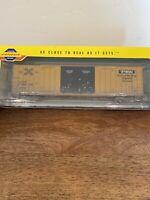 Athearn Genesis HO Train Car Weathered 60' Gunderson Box Car TBox New! Rare