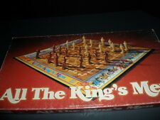All the Kings Men Game Parker Bros Vintage 1979 Used Age 8+