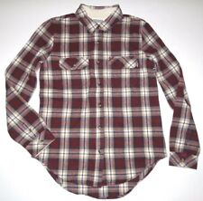 VANS Womens No Ones Girl Flannel Button up Shirt Small