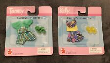 1999 Tommy Green Plaid Outfit W/Shoes & 1999 Kelly Sea Shells Outfit W/Shoes NEW